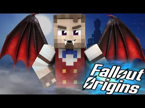 THE WASTELAND VAMPIRE? Minecraft FALLOUT ORIGINS #21 ( Minecraft Roleplay SMP ) thumbnail