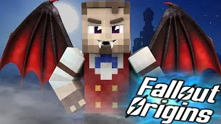 THE WASTELAND VAMPIRE? Minecraft FALLOUT ORIGINS #21 ( Minecraft Roleplay SMP )