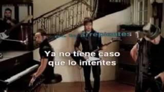 Camila- Mientes (karaoke)