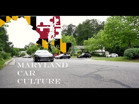 Maryland Car Culture: Cars, Food, and Family Hangout (2017)