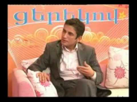 ASHOT SARGSYAN  EREVAN TV (YEREVAN) JOXOVRDAKAN HAXORDAVAR NAXAGIC, PART 1 INDIVIDUUM CASTING