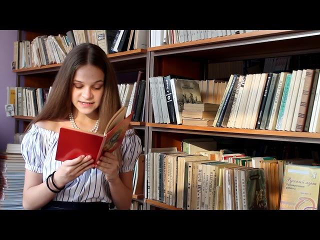Изображение предпросмотра прочтения – ВладаНарушева читает произведение «Малиновая вода» И.С.Тургенева