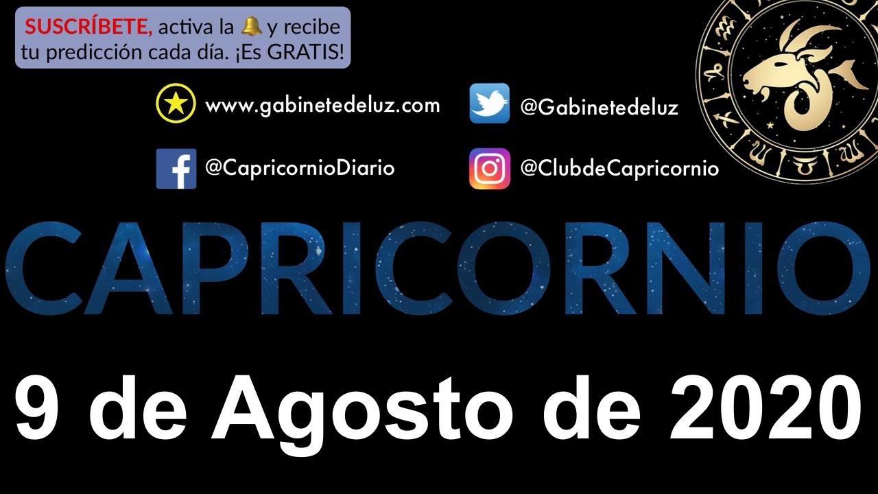 Horóscopo Diario - Capricornio - 9 de Agosto de 2020