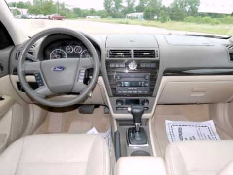 2006 Ford Fusion 4dr Sdn V6 Sel Youtube