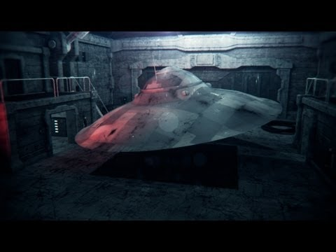 Haunebu III German WW2 Nazi UFO Testflight + Free 3D Model Download