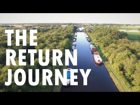 Our Return Narrowboat Journey Along The Stainforth & Keadby Canal