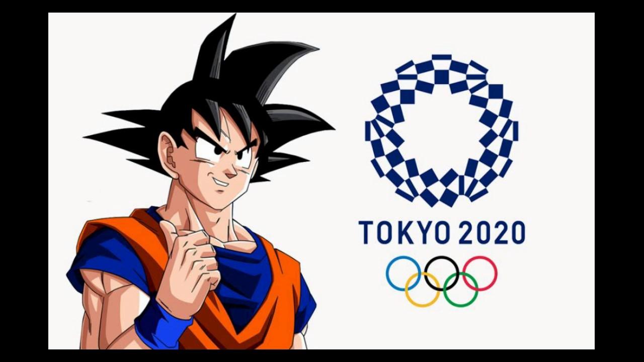 Goku Embajador De Los Juegos Olimpicos Tokyo 2020 Youtube