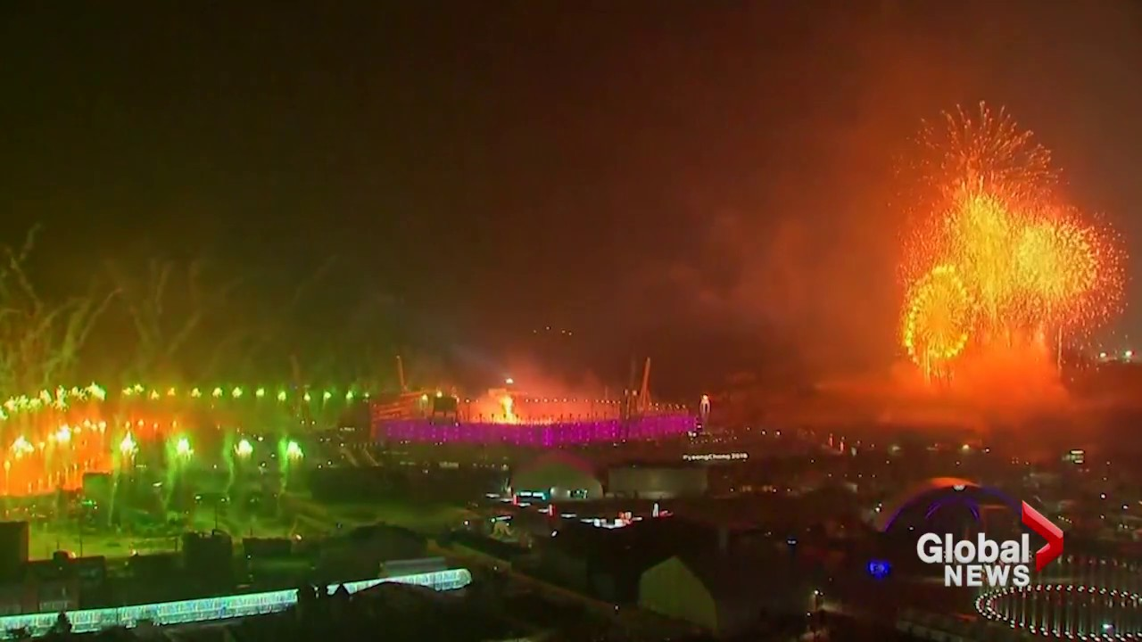 Olympic opening ceremony concluded with stunning fireworks display