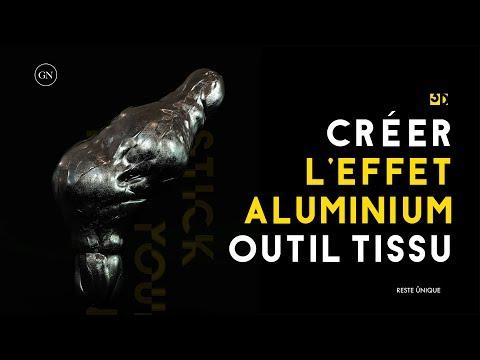 Tutorial Cinema 4d : Tissu effet Aluminium