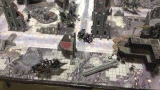 7th Ed Warhammer 40k Battle Report Ravenguard vs Dark Eldar 1500pts