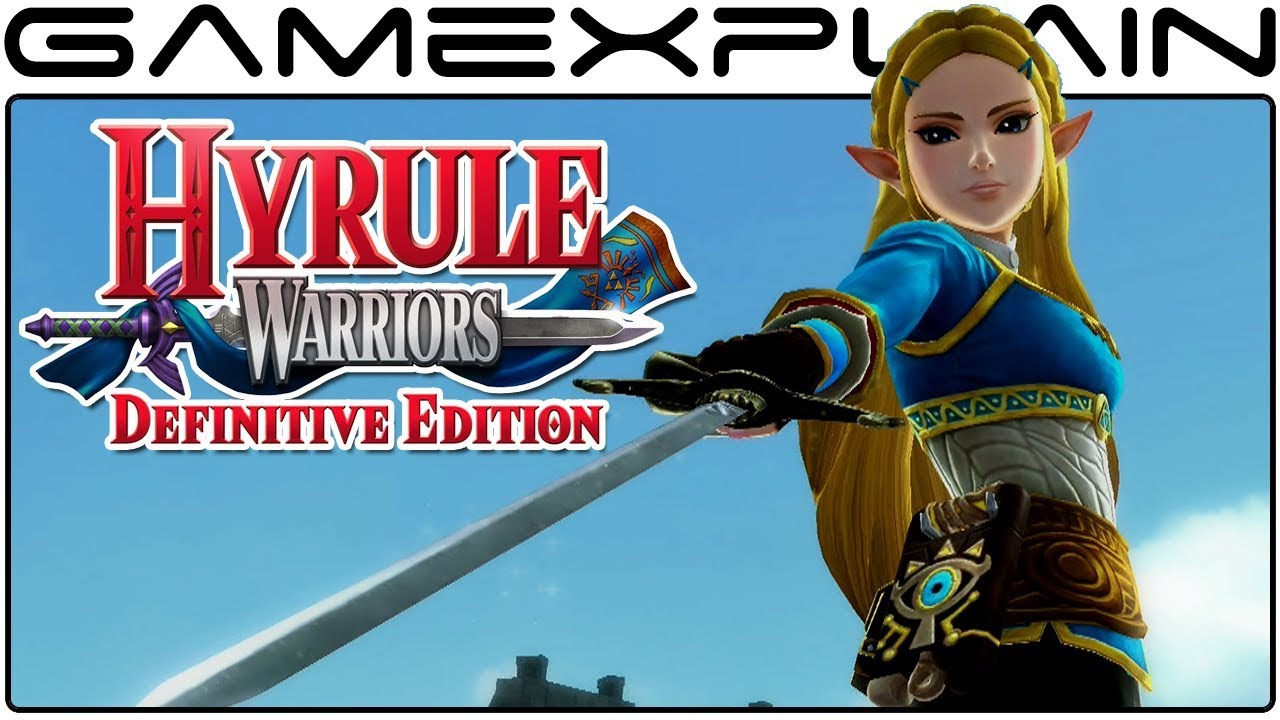 Hyrule Warriors Definitive Edition Breath Of The Wild Link Zelda Costumes Gameplay Youtube