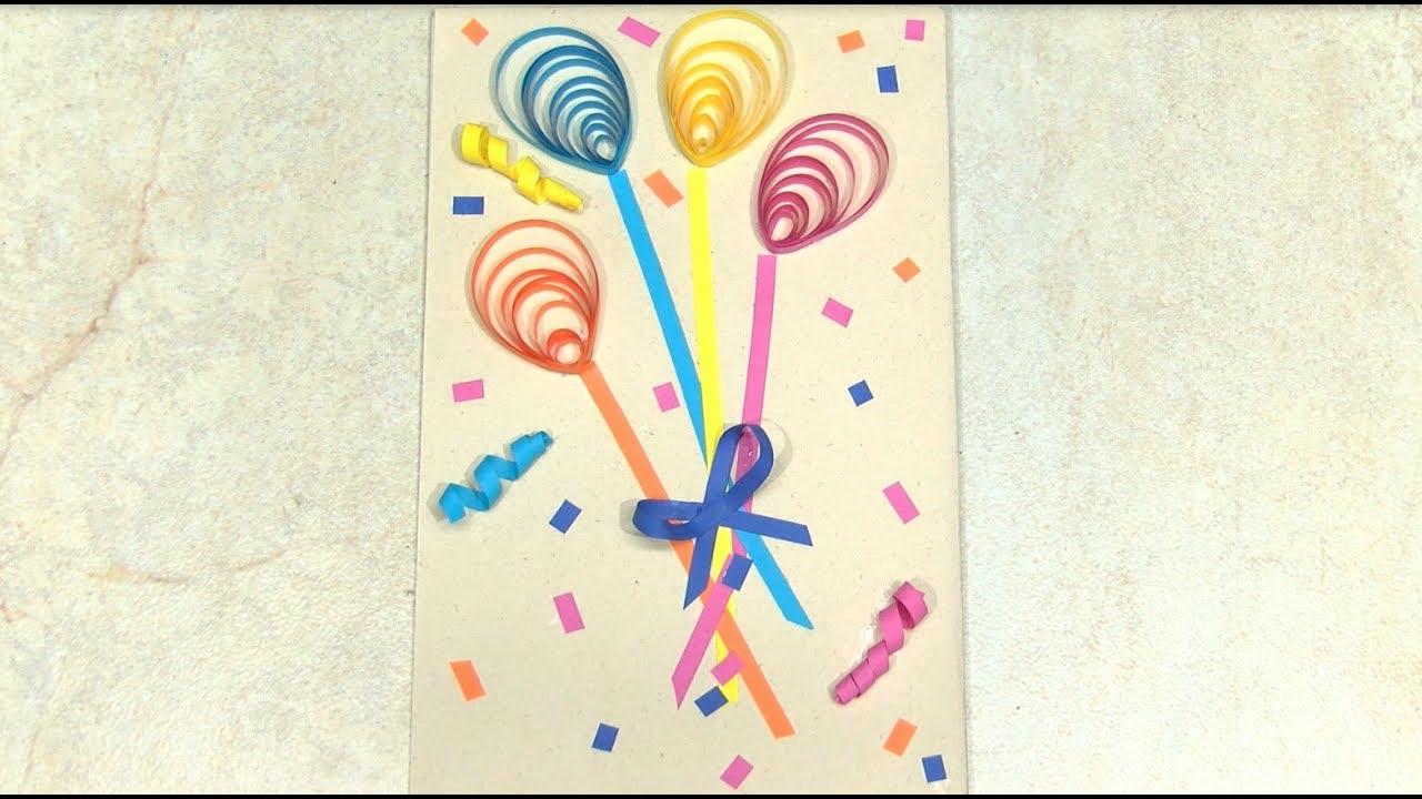 Como hacer tarjeta de cumplea os en filigrana hogartv - Como hacer tarjetas de cumpleanos ...