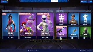 Fortnite Item Shop 7/29/19 *NEW* BACHII OUTFIT