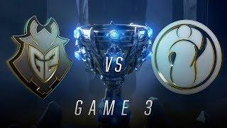 G2 vs IG | Semifinal Game 3 | World Championship | G2 Esports vs Invictus Gaming (2018)
