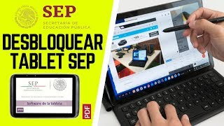 Desbloquear @aprende.mx SEP antirobo y por dejar sin Pila   Código de desbloqueo Tablet sep 2017