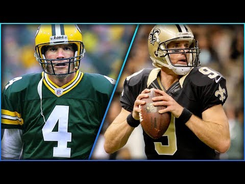 The Top 5 NFL Passing Leaders Every Year Since the NFL/AFL Merger