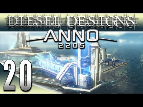 Anno 2205 Gameplay: EP20: Lunar Licensing Project Completed! (Futuristic City Building Series 1080p)