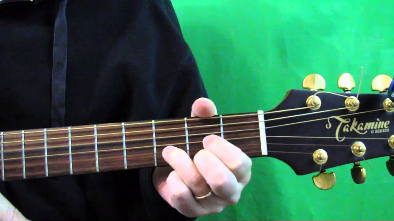 How To Play The D Major Chord On Guitar D Major Guitar Chord Youtube