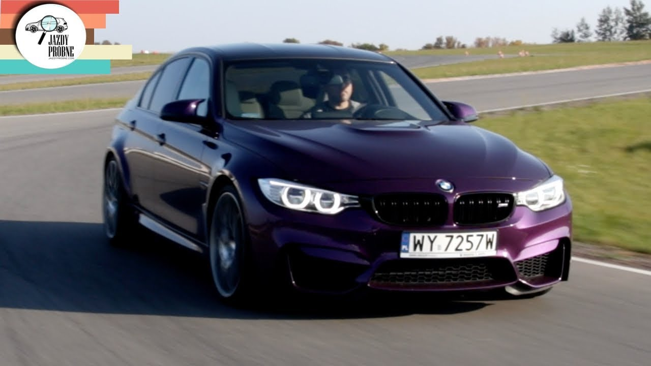 BMW M3 Competition 3.0 450 KM: Twilight purple – #235 Jazdy Próbne