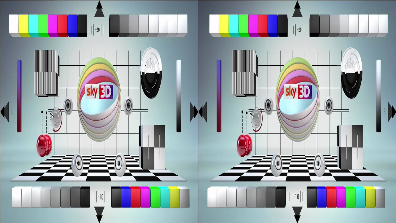 3d test card loop youtube. Black Bedroom Furniture Sets. Home Design Ideas