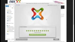 Videotutorial de Flex 01 - Instalación del ApacheFlex SDK