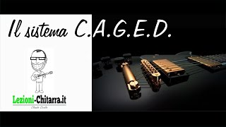 caged guitar
