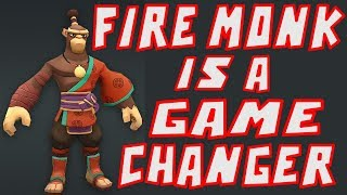 Why Fire Monk Is A Game Changer - Might and Magic Elemental Guardians
