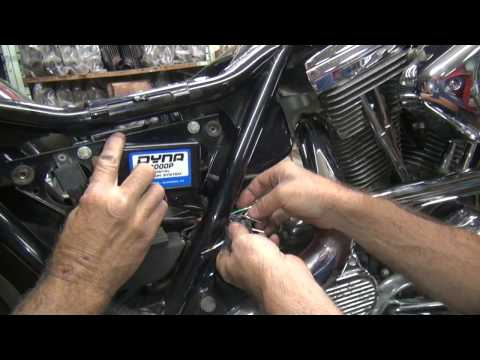 1989 fxr #104 ignition swap-out repair harley dyna 2000i by tatro machine