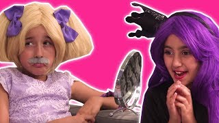 GETTING READY FOR THE PRINCESS SUMMER BALL 👗 Magic & More - Princesses In Real Life | Kiddyzuzaa