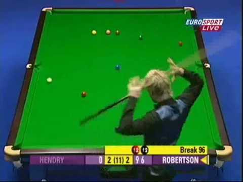 Neil Robertson's Cue Power