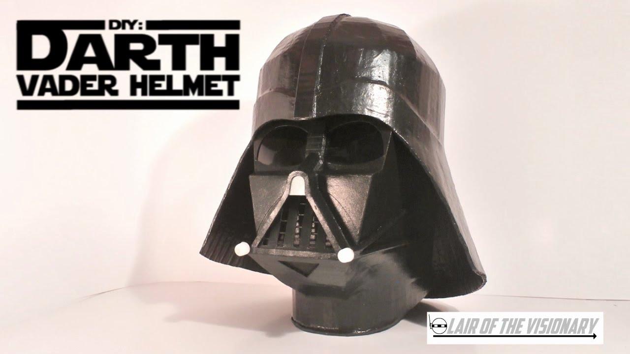 Diy Darth Vader Helmet Lair Of The Visionary Youtube