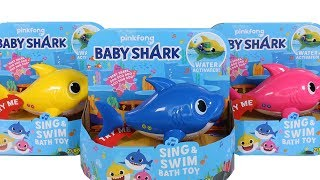 baby Shark Water Toy Unboxing Toy Review