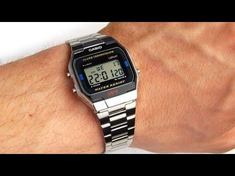 """Обзор и настройка легендарных часов Casio A163WA - """"MONTANA"""" Retro Watches"""