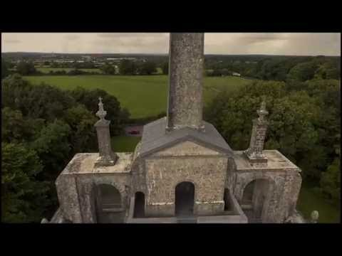 ANCIENT IRISH MONUMENT by DRONE