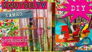 KnutselTV - DIY Opberger voor op je kamer