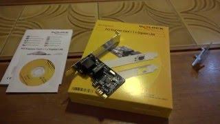 DeLock PCI Express Gigabit LAN Card GD1801 Review