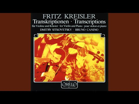 Etudes-caprices, Op. 18: No. 4. Caprice In A Minor (arr. F. Kreisler For Violin And Piano)
