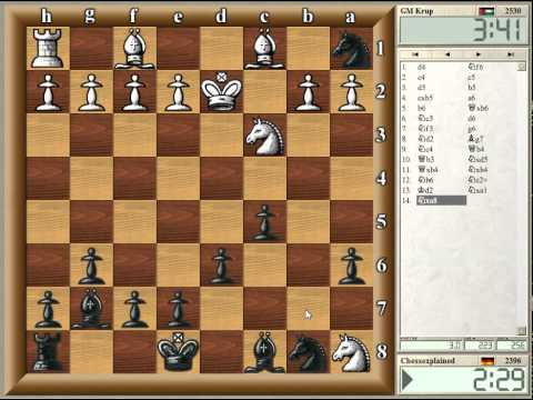 Blitz Chess #65 with Live Comments - Benko Gambit vs GM Kruppa (b win)