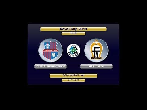 U-15  Paide Linnameeskond(EE) – AFA Olaine(LV) (Reval Cup 2019)