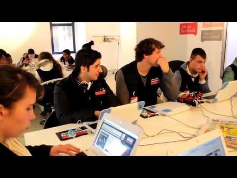 Visita de estudo ao media lab Jornal de Noticias