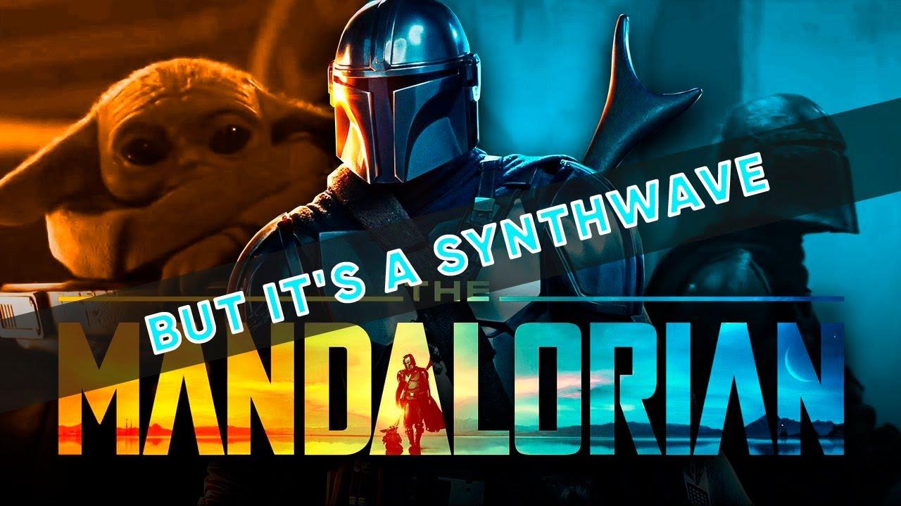 The Mandalorian but it's a SYNTHWAVE (BeatBoyNinja Remix)