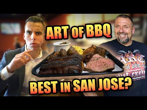 BEST BBQ IN SOUTH SAN JOSE | Art of BBQ | Bay Area Restaurants | Taste Test