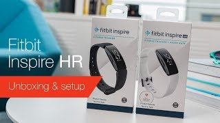 Fitbit Inspire & Inspire HR unboxing & setup