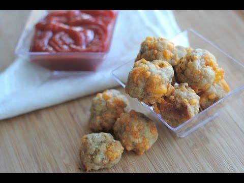 Angie Ward - Sausage Cheese Balls Recipe