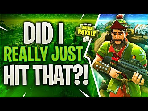 DID I REALLY JUST HIT THAT? (Fortnite Battle Royale)