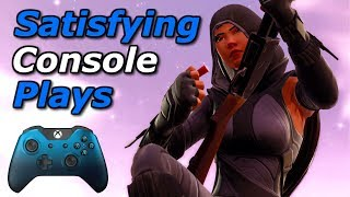 Extremely Satisfying Console Plays | Fortnite Battle Royale