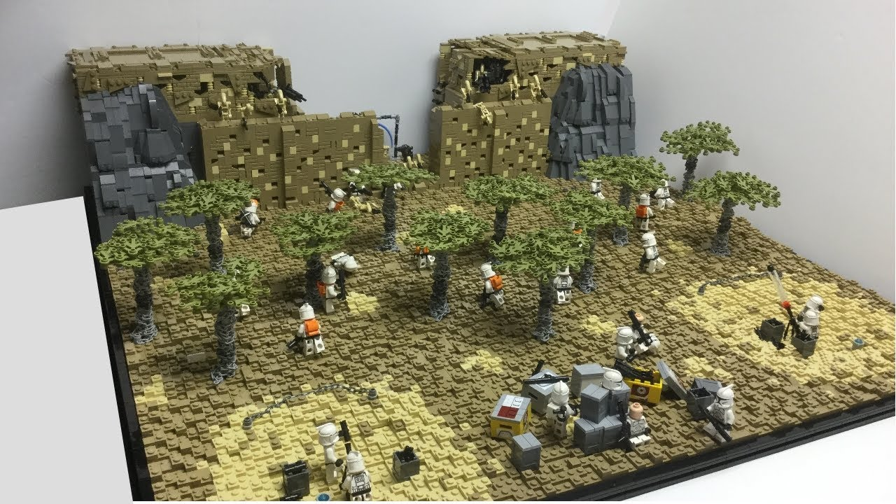 Lego Assault On Ryloth Moc Star Wars The Clone Wars