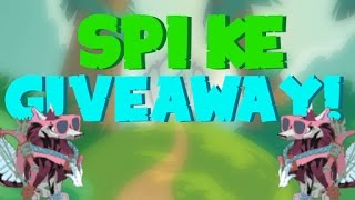 Animal Jam SPIKE GIVEAWAY! 2017 (CLOSED)