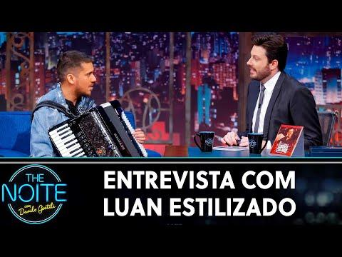 Entrevista com Luan Estilizado  The Noite 140619