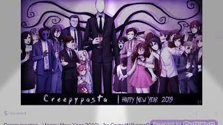 Creepypasta Happy New Year 2019 2020 chúc mừng năm mới